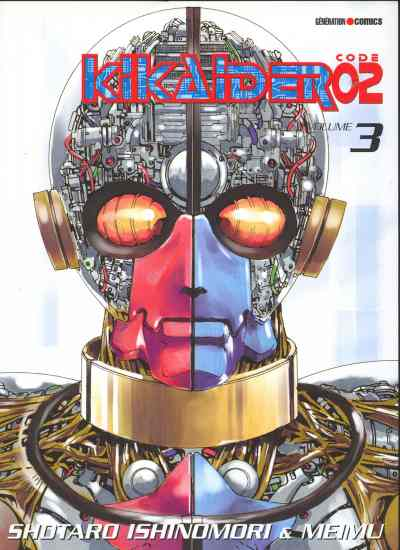 Couverture de Kikaider code 02 -3- Tome 3