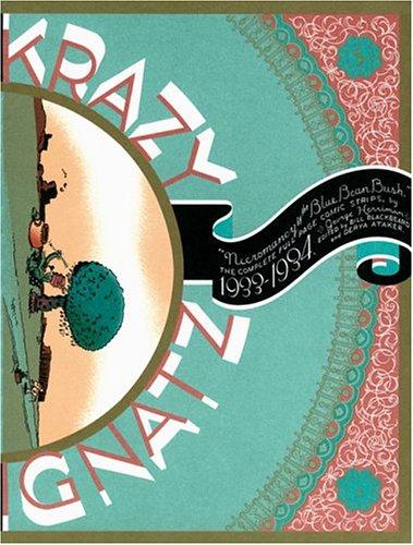 Couverture de Krazy & Ignatz (2002) -INT08- 1933-1934: Necromancy by the Blue Bean Bush
