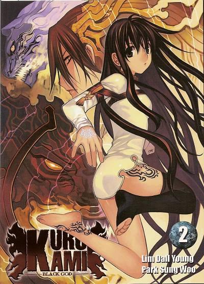 Couverture de Kurokami Black God -2- Tome 2
