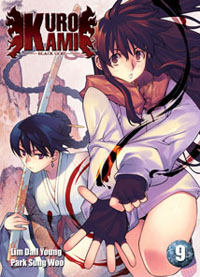 Couverture de Kurokami Black God -9- Tome 9