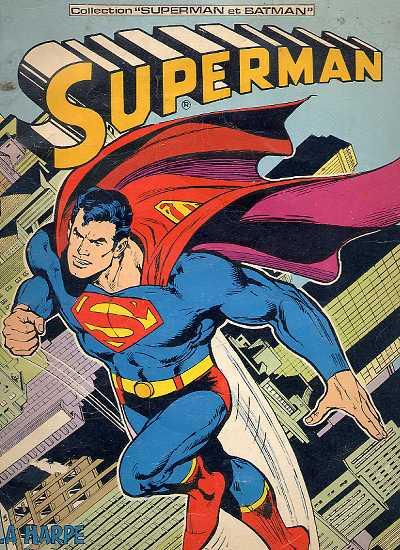 Couverture de Superman et Batman (Collection) -1- Superman - La Harpe du malin