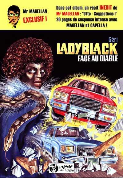 Couverture de Lady Black - Face au diable