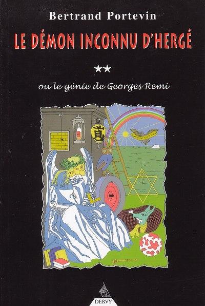 Couverture de (AUT) Hergé -37- Le démon inconnu d'Hergé (ou le génie de Georges Remi)