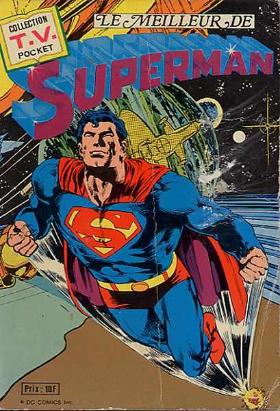 Couverture de TV pocket (Collection ) (Sagedition) -8- Le meilleur de Superman