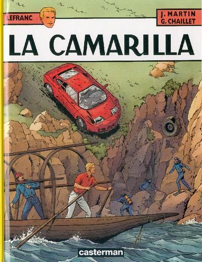 Couverture de Lefranc -12- La Camarilla