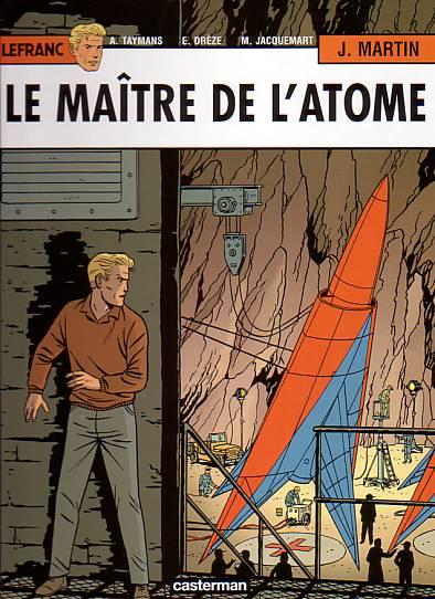 Couverture de Lefranc -17- Le maître de l'atome