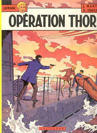 Couverture de Lefranc -6- Opération Thor