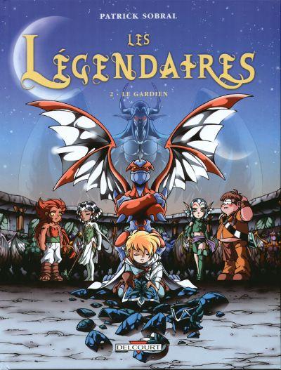 Couverture de Les légendaires -2- Le Gardien