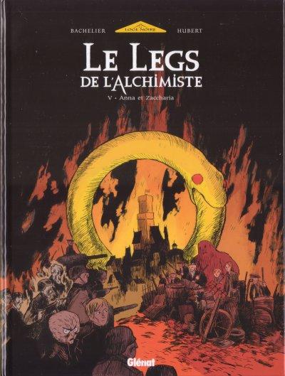 Le legs de l'alchimiste - les 5 tomes