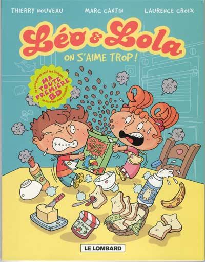 Couverture de Léo & Lola -1- On s'aime trop !