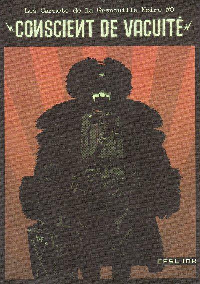 Couverture de Les carnets de la Grenouille Noire -0- Conscient de vacuité