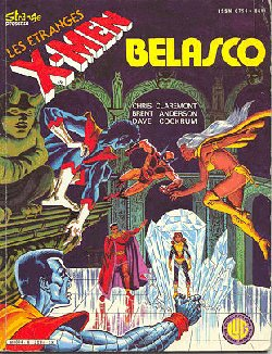 Couverture de X-Men (Les étranges) -6- Belasco