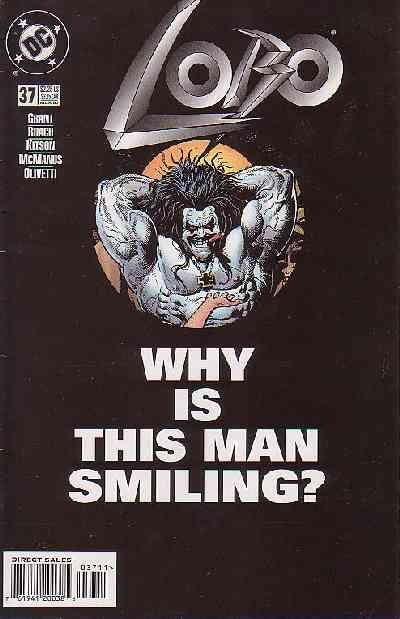 Couverture de Lobo (1993) -37- Lobo 37 - Why is the man smiling?