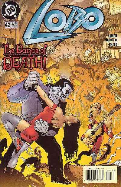 Couverture de Lobo (1993) -42- Lobo 42 - The dance of death