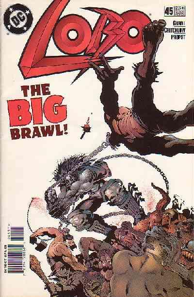 Couverture de Lobo (1993) -45- Lobo 45 - The big brawl