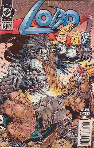 Couverture de Lobo (1993) -5- Lobo 5
