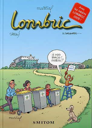Couverture de Lombric -1- A vos bacs! prêts?
