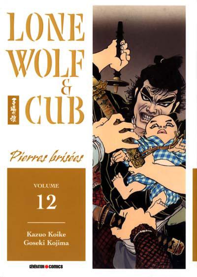 Couverture de Lone Wolf & Cub -12- Pierres brisées