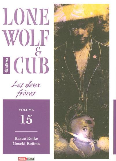 Couverture de Lone Wolf & Cub -15- Les deux frères