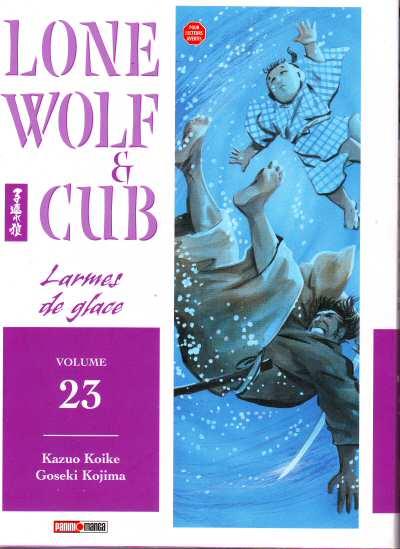 Couverture de Lone Wolf & Cub -23- Larmes de glace