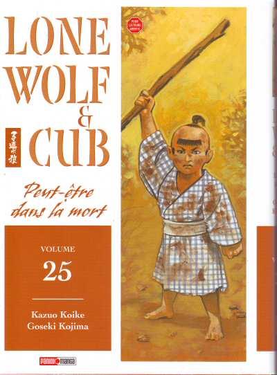 Couverture de Lone Wolf & Cub -25- Peut-être dans la mort