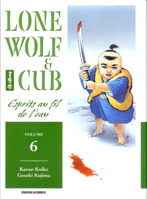 Couverture de Lone Wolf & Cub -6- Esprits au fil de l'eau
