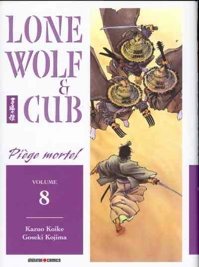 Couverture de Lone Wolf & Cub -8- Piège mortel