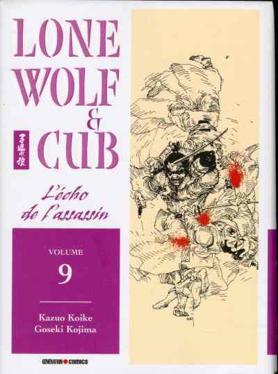 Couverture de Lone Wolf & Cub -9- L'écho de l'assassin
