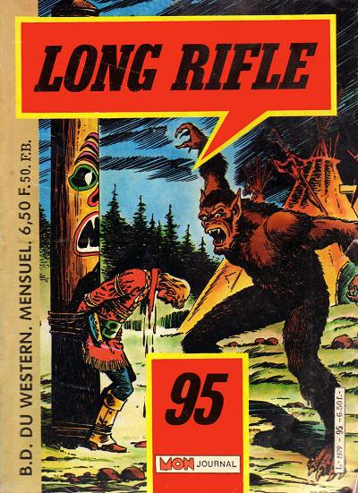 Couverture de Long Rifle -95- Terreur à Bitter Creek