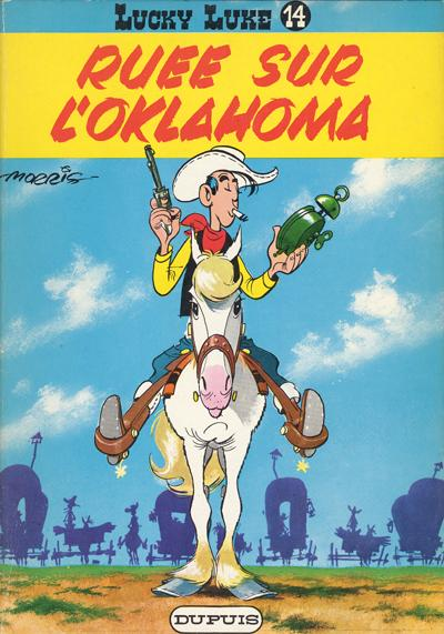 Couverture de Lucky Luke -14- Ruée sur l'Oklahoma