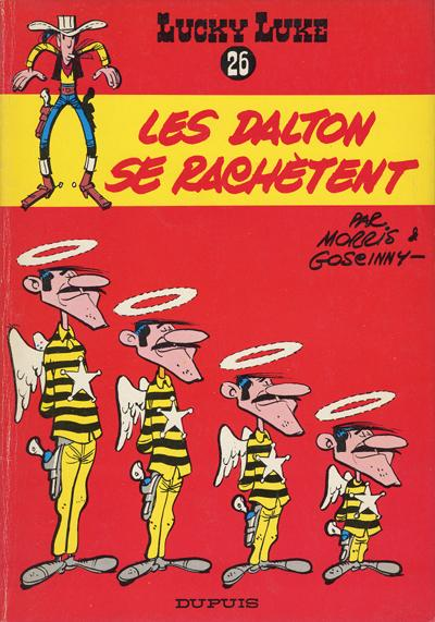 Couverture de Lucky Luke -26- Les Dalton se rachètent