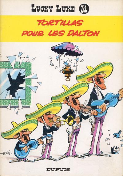 Couverture de Lucky Luke -31- Tortillas pour les Dalton