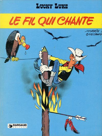 Couverture de Lucky Luke -46- Le fil qui chante