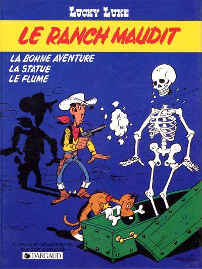 Couverture de Lucky Luke -56- Le ranch maudit