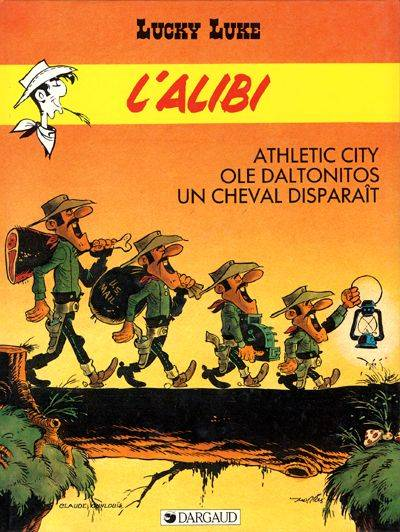Couverture de Lucky Luke -58- L'alibi