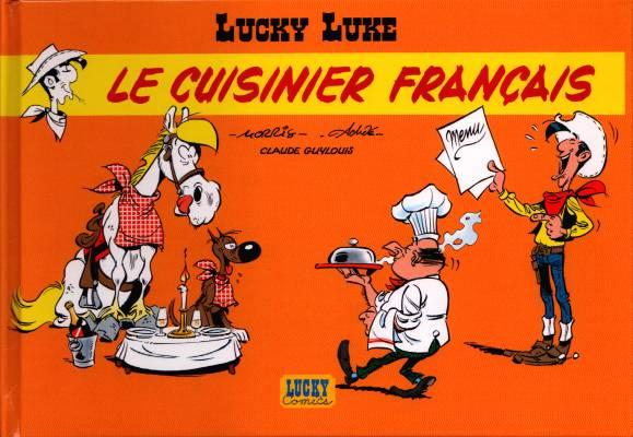 Couverture de Lucky Luke -HS04- Le Cuisinier français