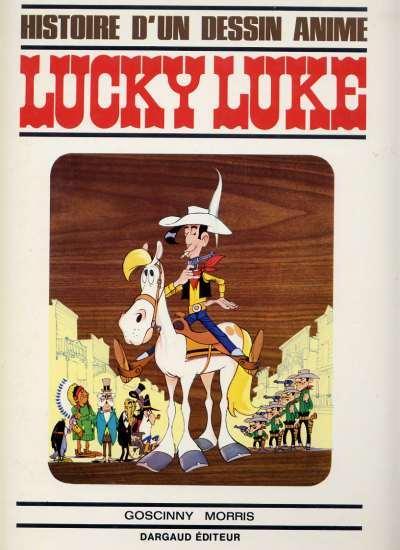 Couverture de Lucky Luke -HS01- Histoire d'un dessin animé
