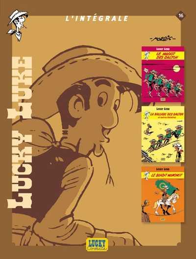 Couverture de Lucky Luke (Intégrale Dupuis/Dargaud) -16- L'intégrale 16