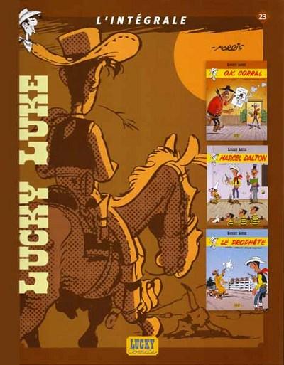 Couverture de Lucky Luke (Intégrale Dupuis/Dargaud) -23- L'Intégrale 23