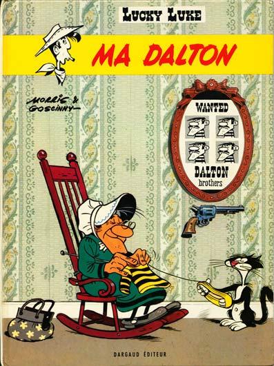 Couverture de Lucky Luke -38- Ma Dalton