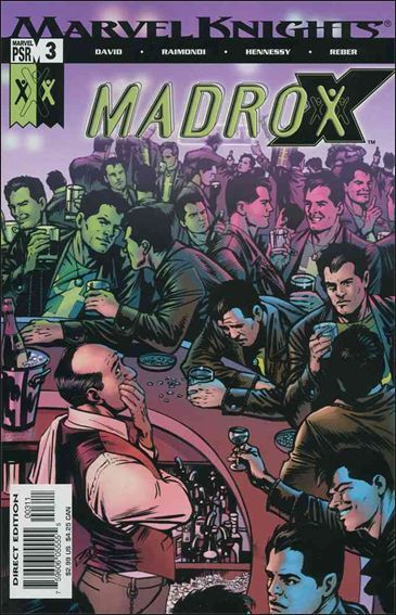 Couverture de Madrox (2004) -3- Dead dirty pool