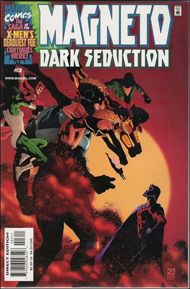 Couverture de Magneto : Dark Seduction (2000) -3- Something worth fighting for