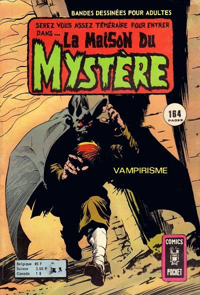 Couverture de La maison du Mystère (Arédit) -3- Vampirisme