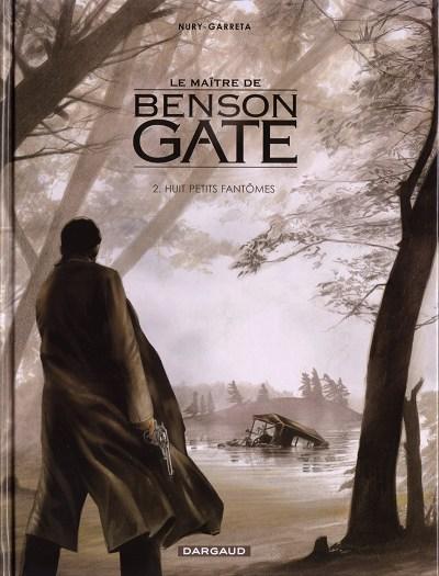 Couverture de Le maître de Benson Gate -2- Huit petits fantômes