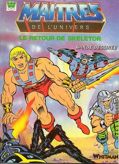Couverture de Maîtres de l'univers (Whitman-France) -5- Le retour de Skeletor