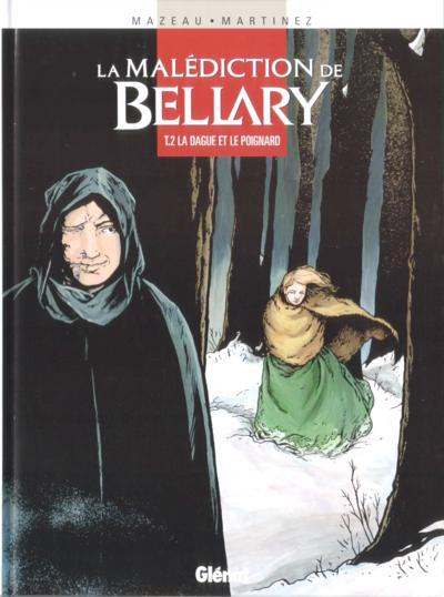Couverture de La malédiction de Bellary -2- La dague et le poignard