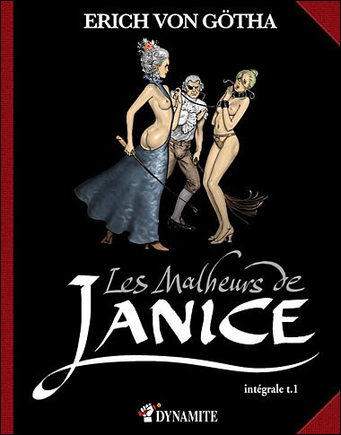 Couverture de Les malheurs de Janice -INT- Intégrale T01