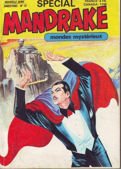 Couverture de Mandrake (4e Série - Remparts) (Spécial - 2) -13- Les pouvoirs de Derek