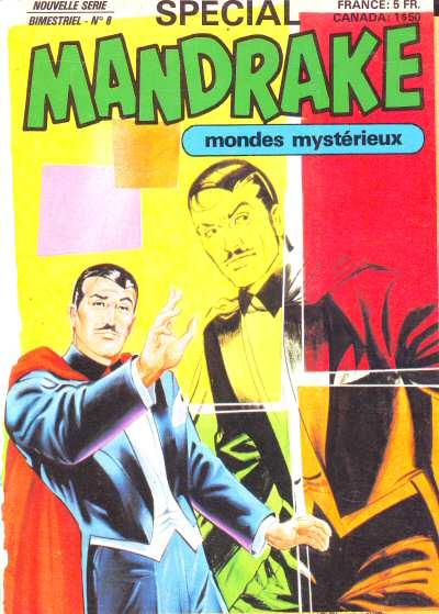 Couverture de Mandrake (4e Série - Remparts) (Spécial - 2) -8- L'homme aux insectes