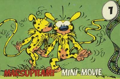 Couverture de Marsupilami (Mini Movie) -1- Volume 1